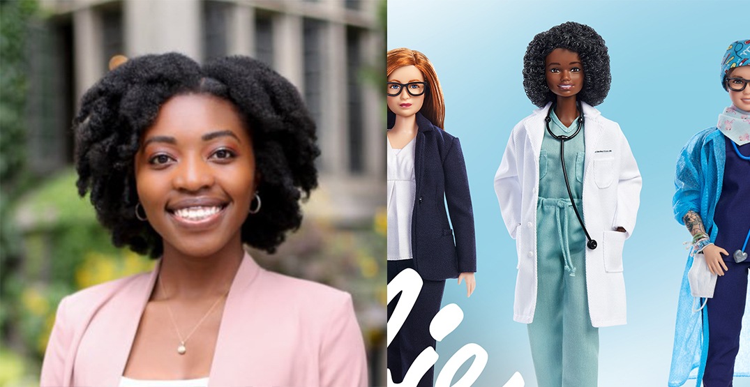 Custom Barbie doll honours Toronto doctor for being a healthcare hero