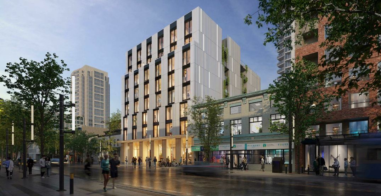 Nine-storey rental housing building proposed for Granville Entertainment District