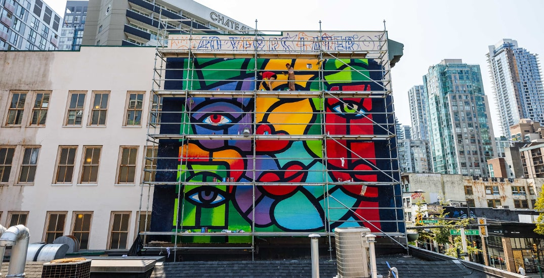 Vancouver Mural Fest artist Joe Average appointed to Order of BC