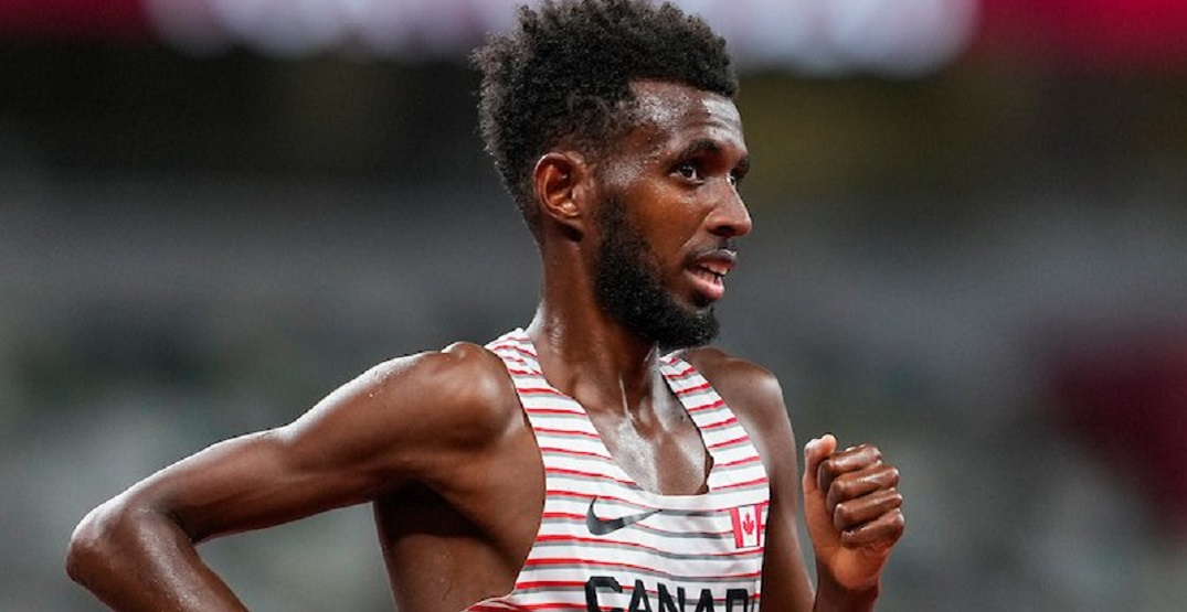 Canadian runner Mohammed Ahmed wins Olympic silver in 5000m with late rally