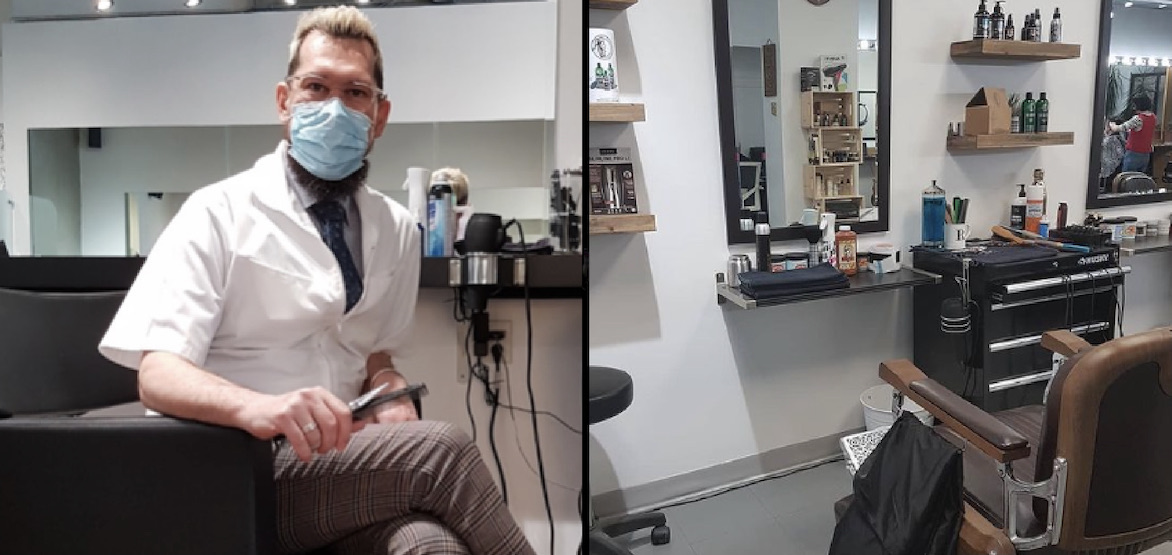 Rodney the Barber is incorporating self-care methods into his haircuts