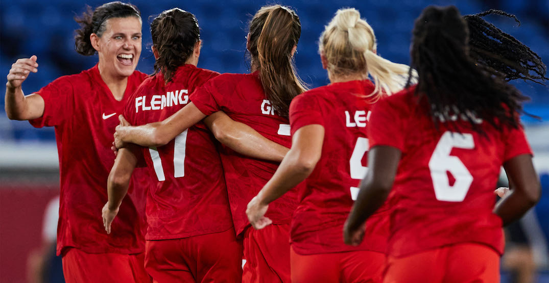 """Christine Sinclair after winning Olympic gold: """"I'm so proud of this team"""""""
