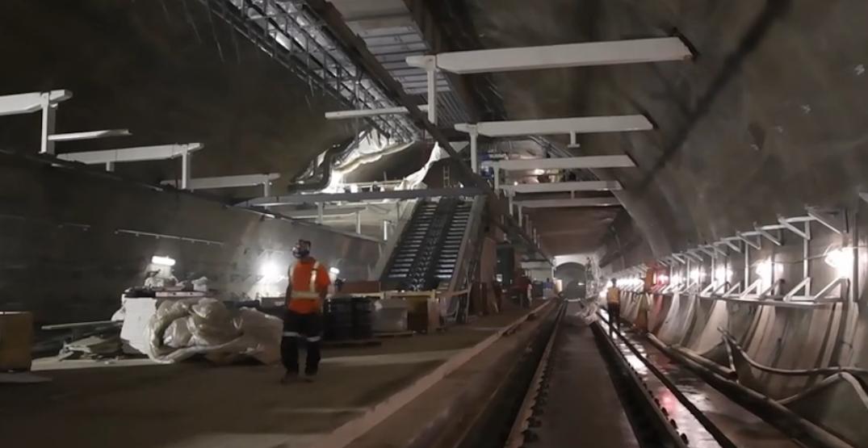 New Eglinton Crosstown LRT station is taking shape (VIDEO)