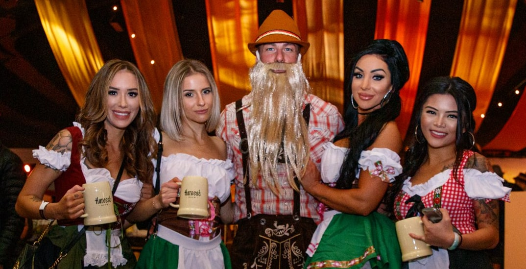 Vancouver's largest Oktoberfest party, Harvest Haus, returns this fall