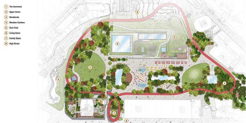 oakridge centre vancouver park