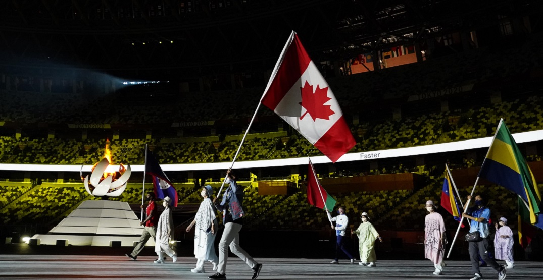 Canadian athletes take centre stage at Tokyo Olympics closing ceremony (PHOTOS)