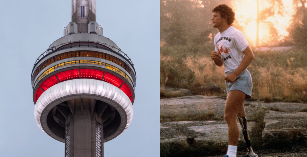 Canadian landmarks to light up red and blue for Terry Fox