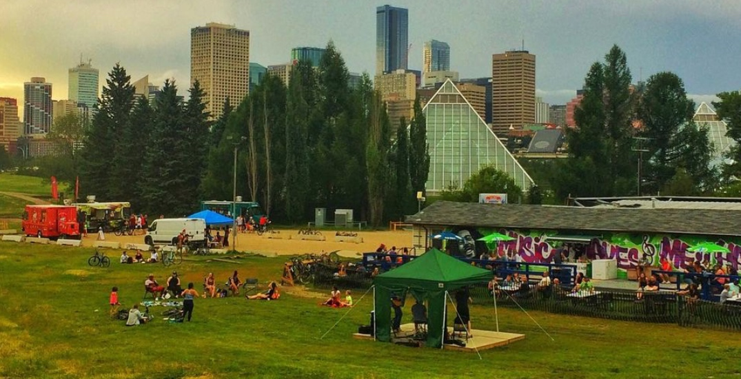 A music festival is taking over the Edmonton Ski Club this weekend