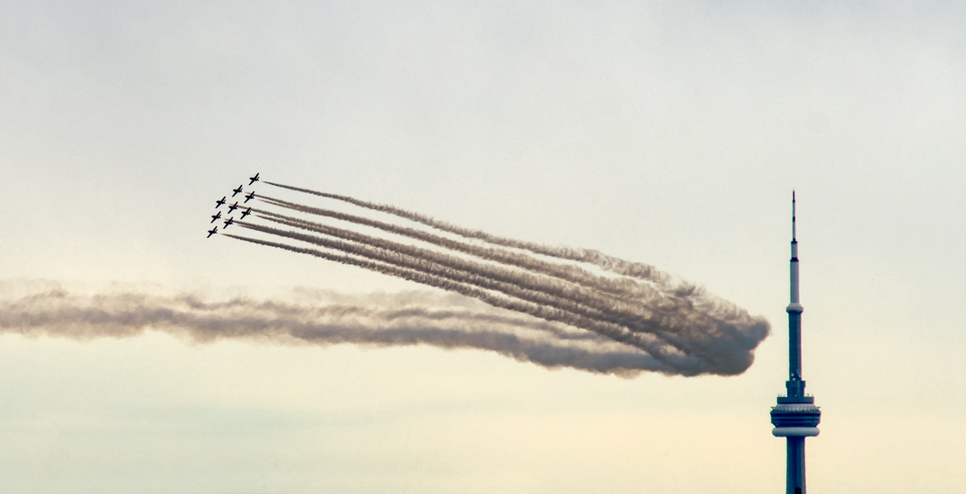 The Air Show is returning to Toronto's skies this weekend