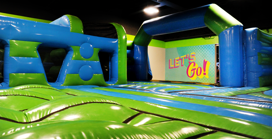 A massive inflatable park is opening in Toronto next week