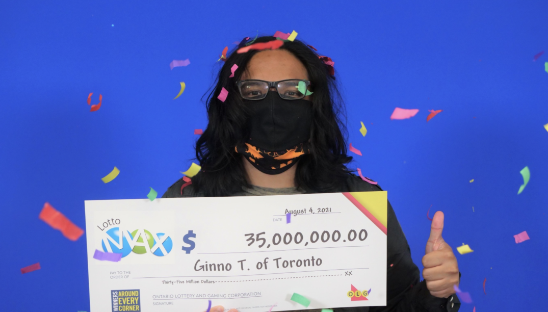 """""""My stomach was in knots"""": Toronto Lotto Max winner kept his $35 million ticket secret for weeks"""