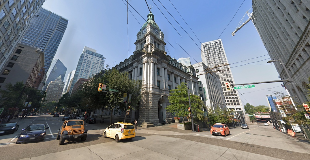 Plans to build $500 million federal office tower at Sinclair Centre in downtown Vancouver
