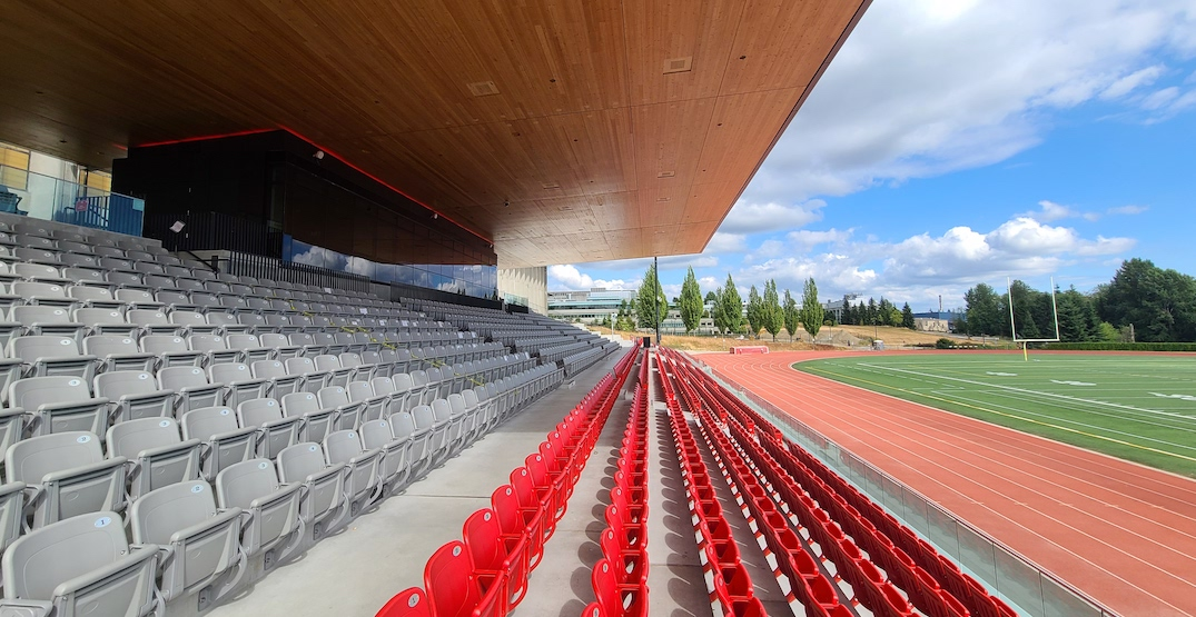 New stadium reaches completion at SFU Burnaby campus (PHOTOS)