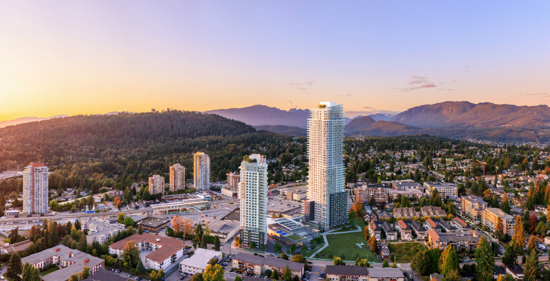 Parkside homes in Burquitlam launch as part of a new master-planned community