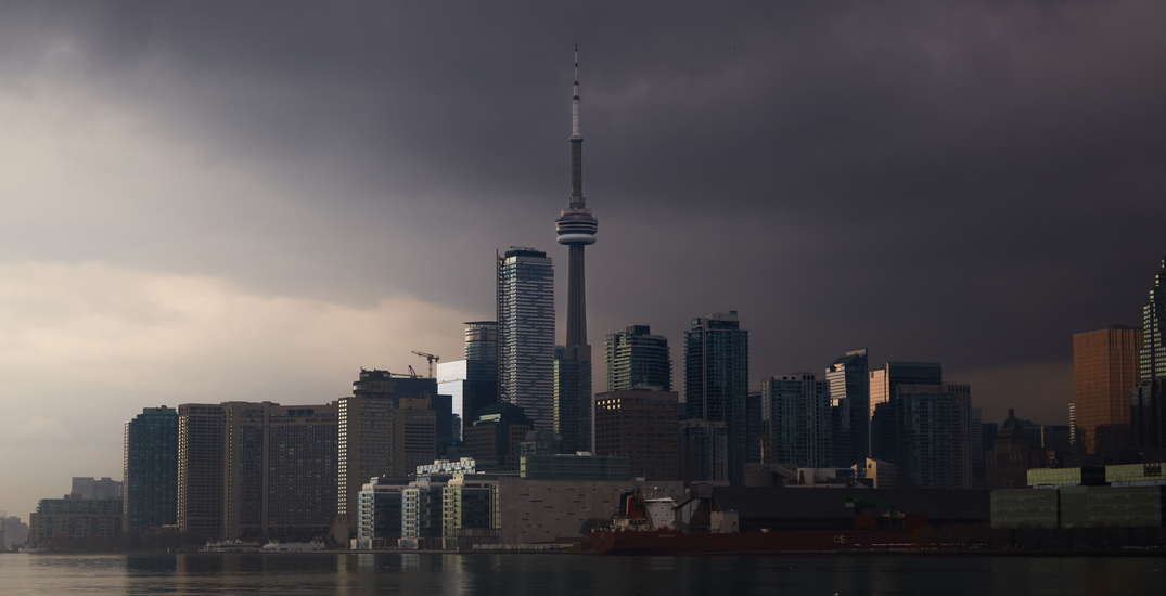 Toronto is currently under a heat warning and a severe thunderstorm watch