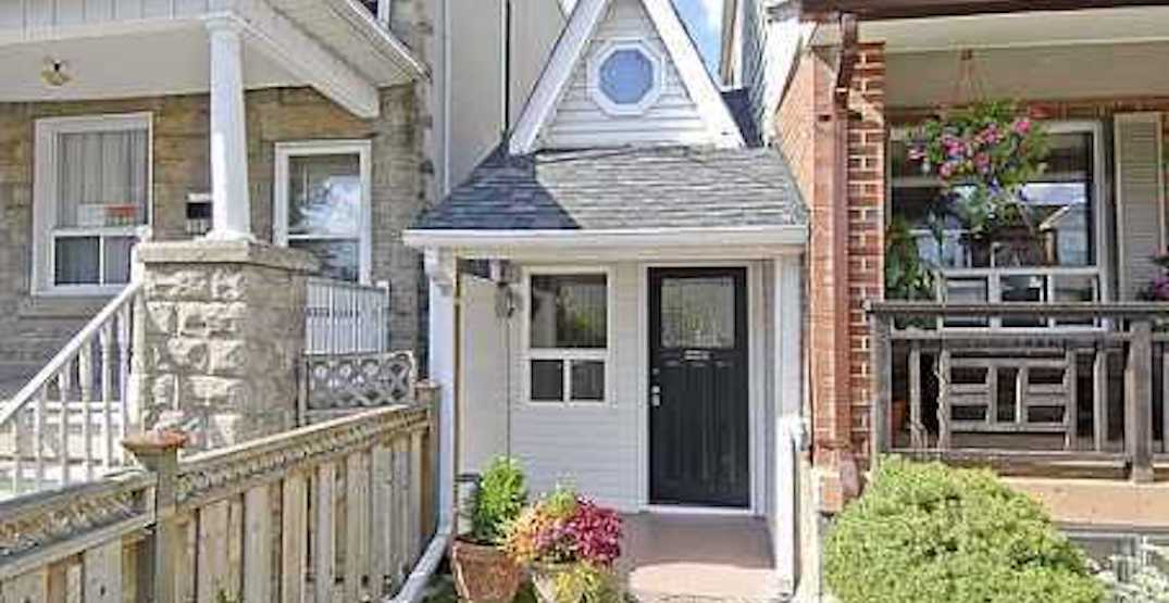 These are 5 of the smallest houses in Toronto (PHOTOS)