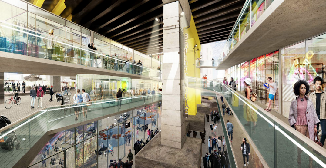 Here's what the proposed mall under the Gardiner might look like