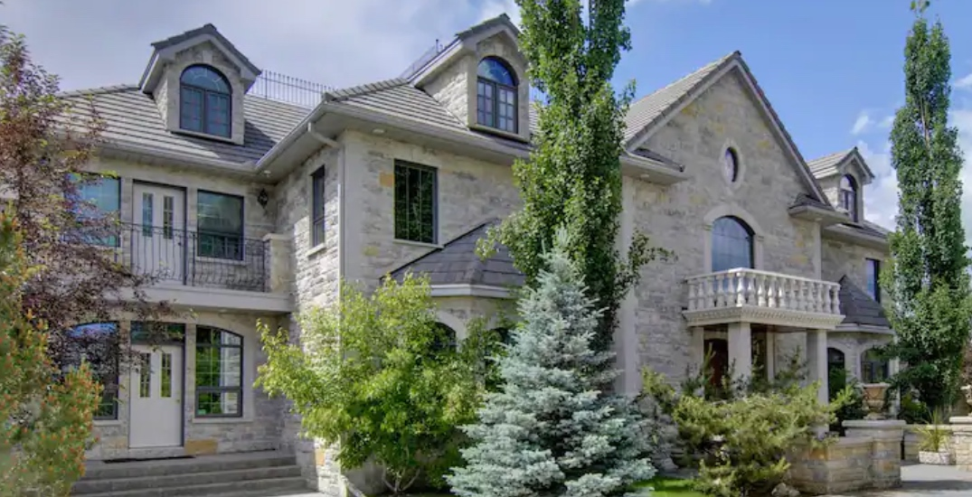 These are the top 5 most expensive Airbnbs in Alberta
