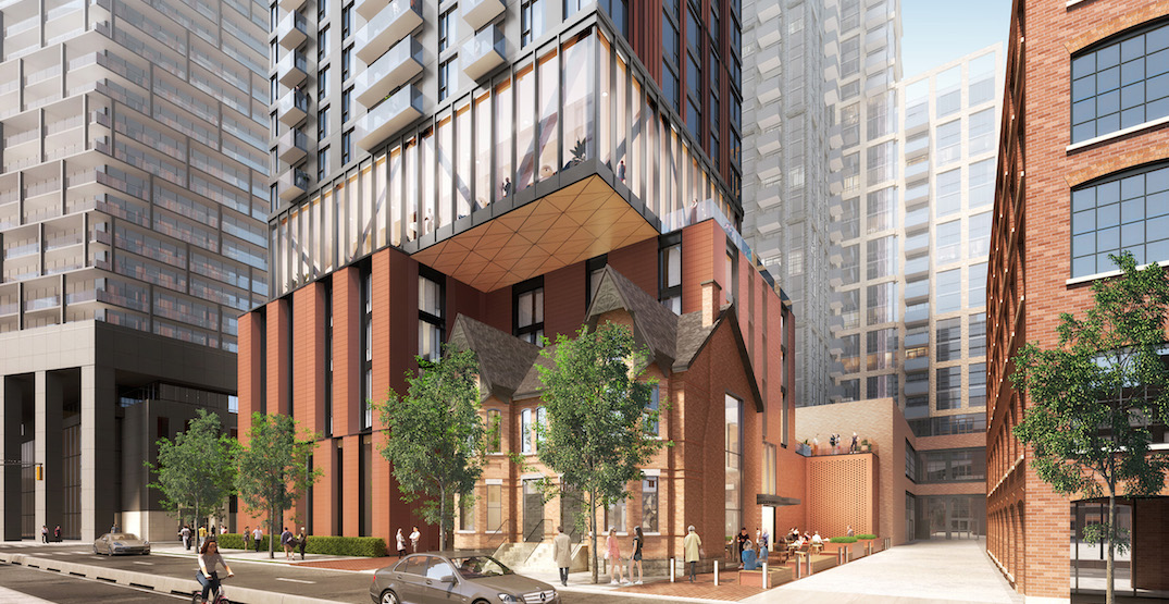 Old Victorian houses becoming part of massive Toronto condo build