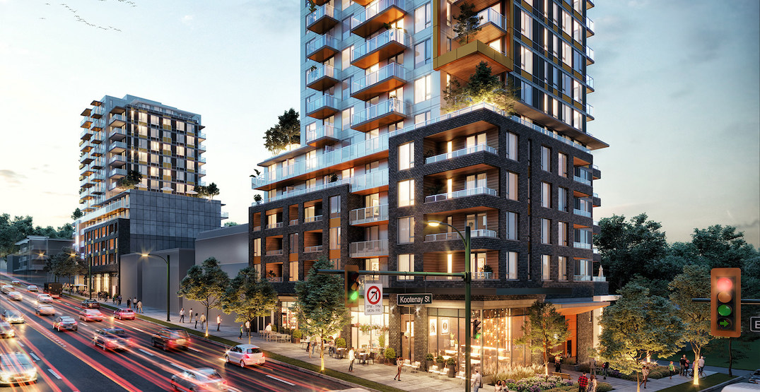 $127 million in federal financing for 254 rental homes in East Vancouver
