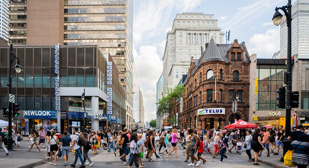 Canada's biggest open-air sidewalk sale is coming to Montreal next month