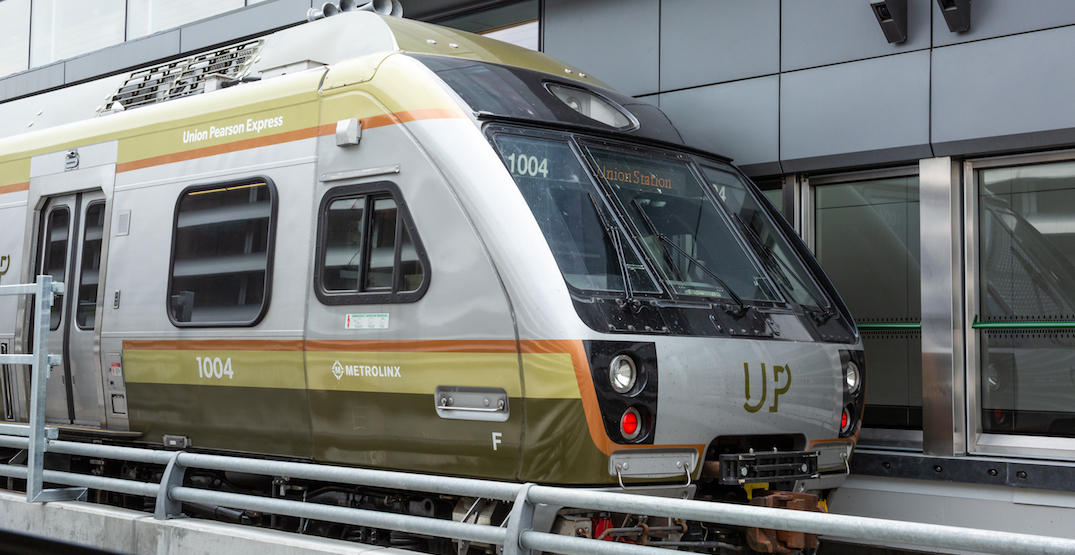 Toronto's UP Express is returning to its regular service