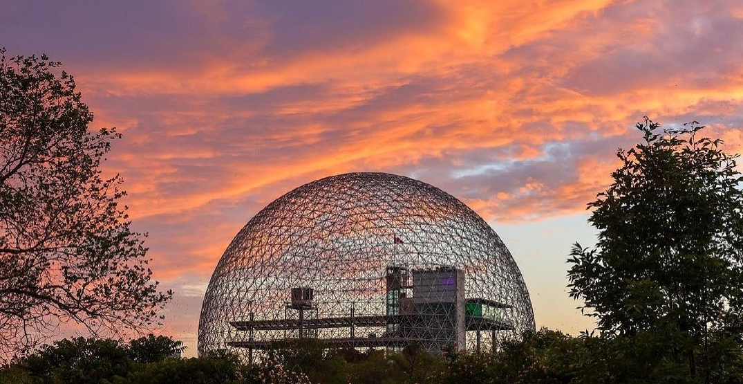 You can go to the Biosphère in Montreal for FREE all weekend