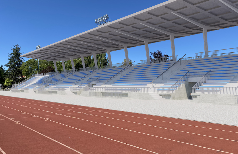 surrey bear creek athletics centre