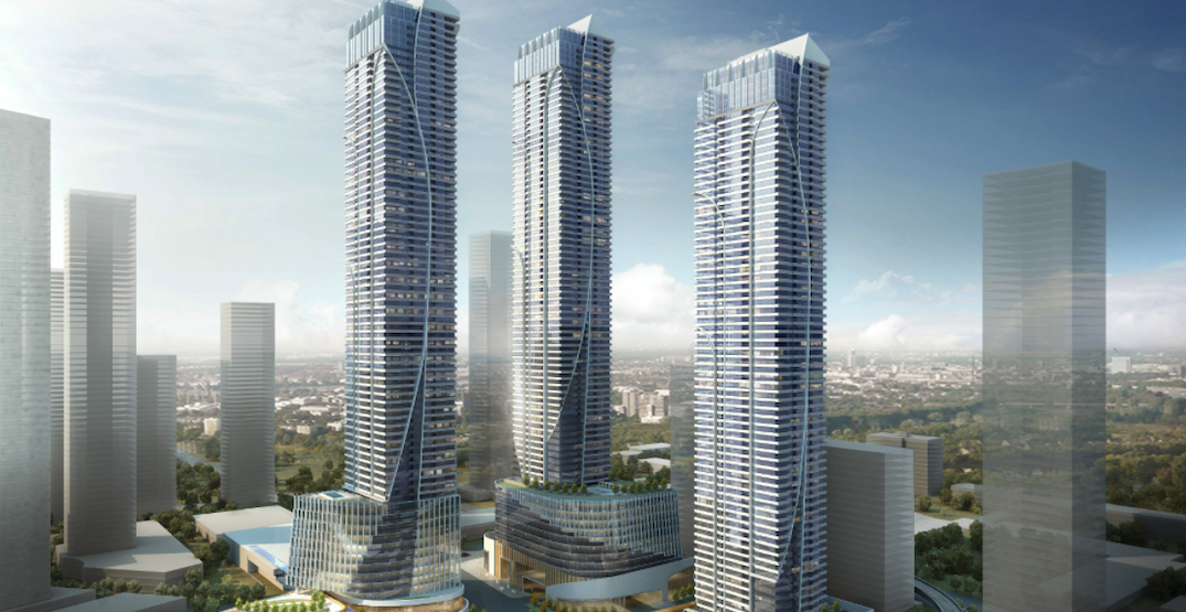 A closer look at Western Canada's future tallest tower at Lougheed Station (RENDERINGS)