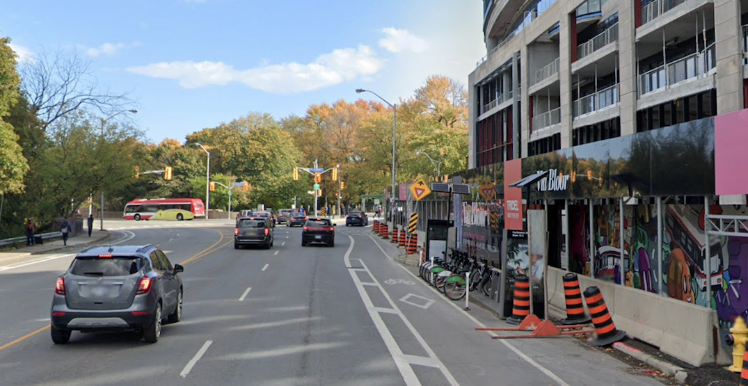 Bloor Street's bike lanes are about to get even wider