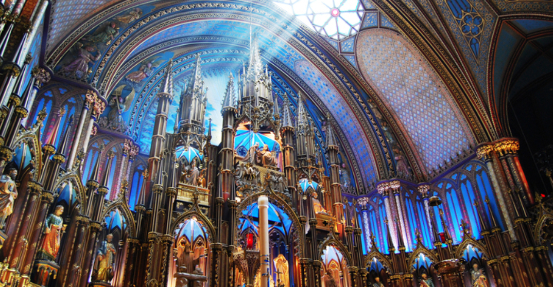 Spectacular immersive light show returns to historic Notre-Dame Basilica of Montreal