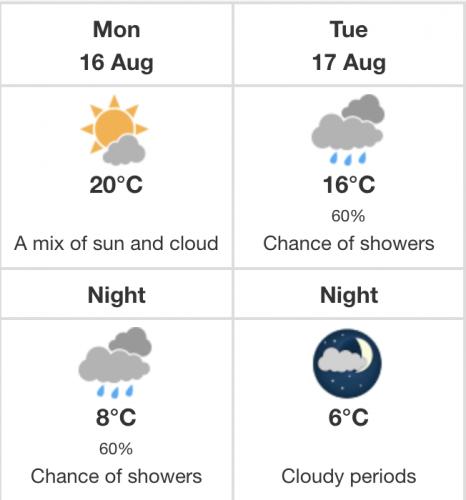 Calgary heat warning
