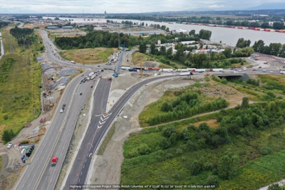 Highway 17 19 Connector Delta July 2021