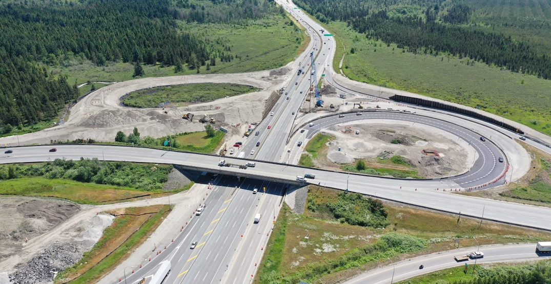 New interchanges for Highway 91/97 and Deltaport Way now 50% complete