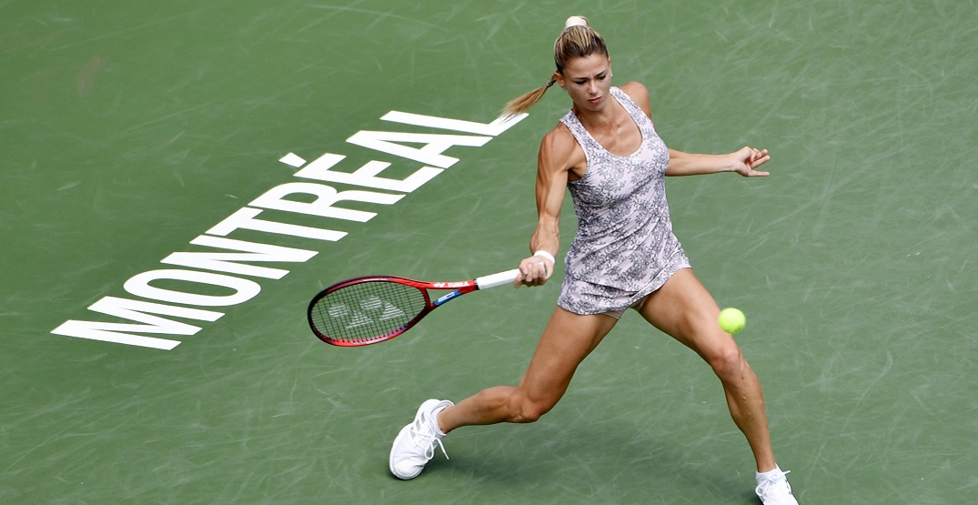 Unseeded Camila Giorgi wins National Bank Open final in Montreal