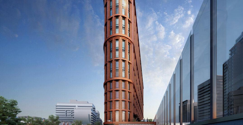 Planned King West flatiron building gets an updated look (RENDERINGS)