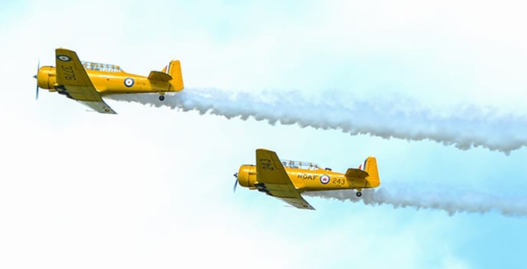 This air show is happening just outside of Edmonton this weekend