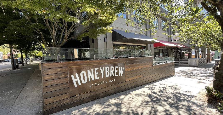Honeybrew Strudel Bar now open in downtown Vancouver