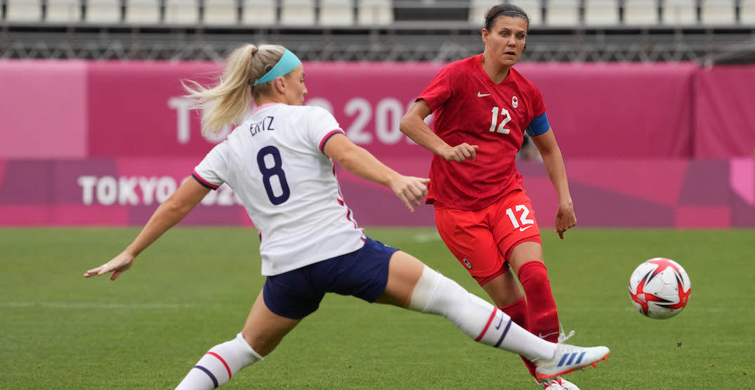 Christine Sinclair calls for women's pro soccer to come to Canada