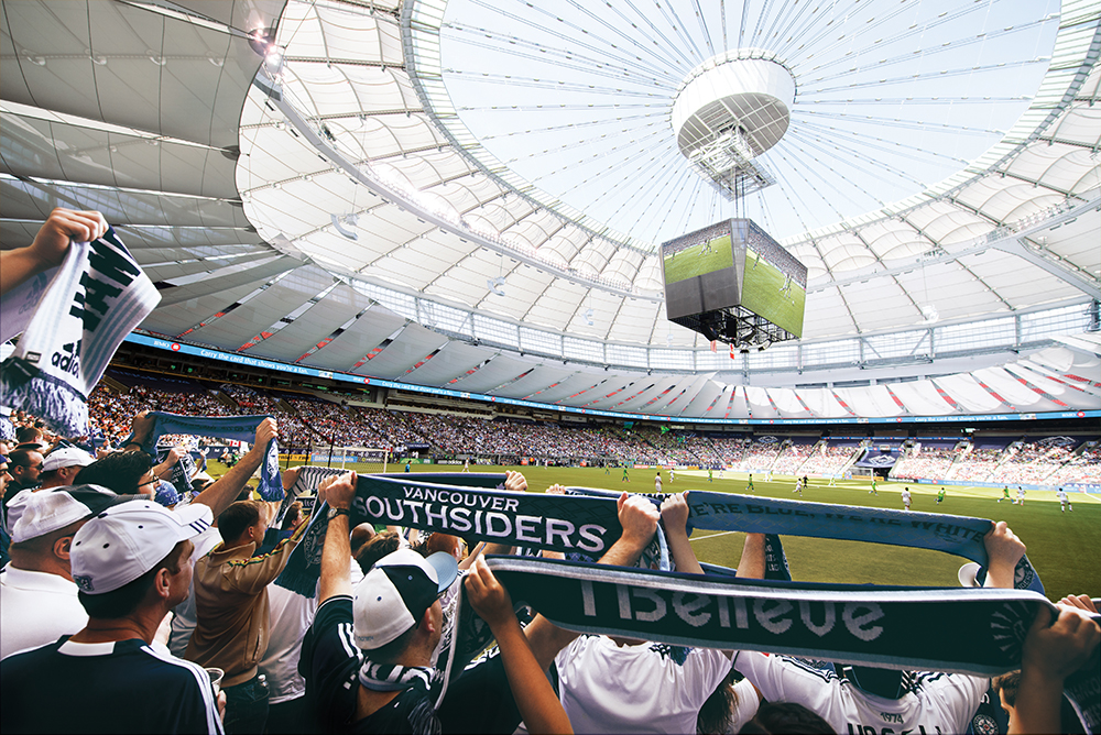 BC Place welcomes back viewers