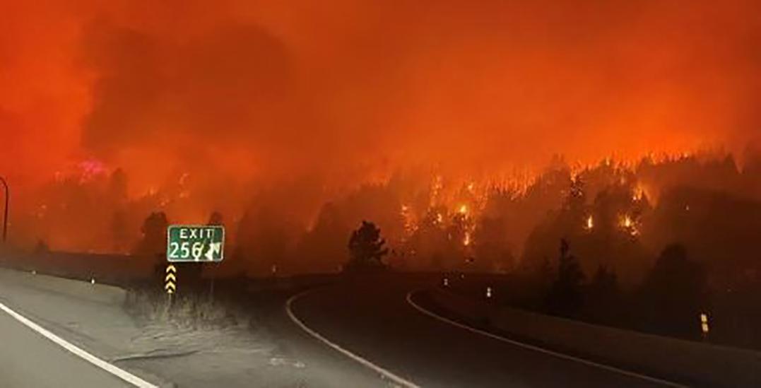 Wildfires shut down Coquihalla Highway, prompt evacuations in West Kelowna