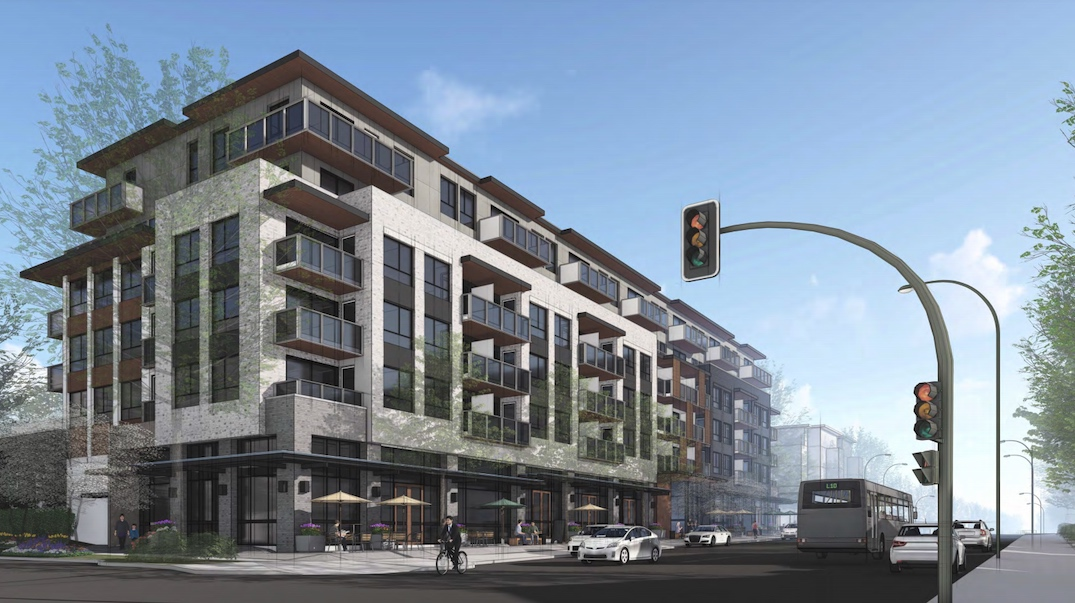 100 rental homes proposed for Fraser Street and 29th Avenue corner in Vancouver
