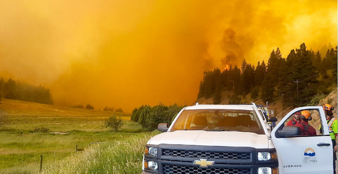 Coquihalla Highway remains closed with over 80 wildfire evacuation orders in effect