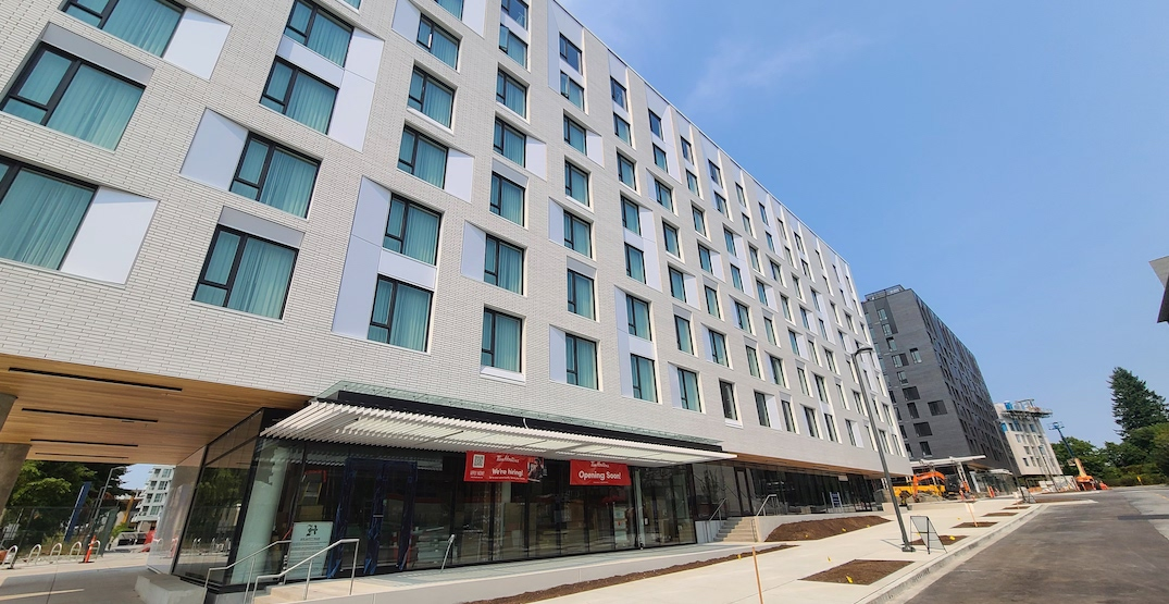 400 beds at new UBC student housing complex set to open (PHOTOS)