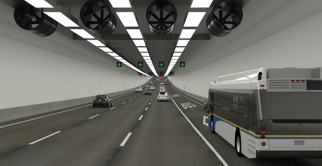 New $4.15 billion George Massey Tunnel with eight lanes confirmed by BC government