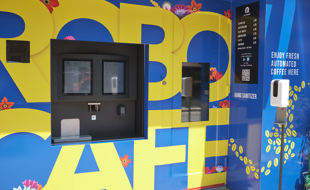 Toronto getting more robot cafe locations and they're giving out FREE drinks