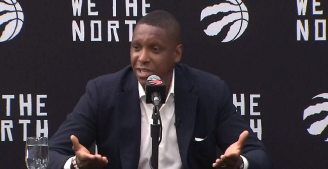 """Masai Ujiri """"not going to sit here and cry"""" about free agents not joining Raptors"""