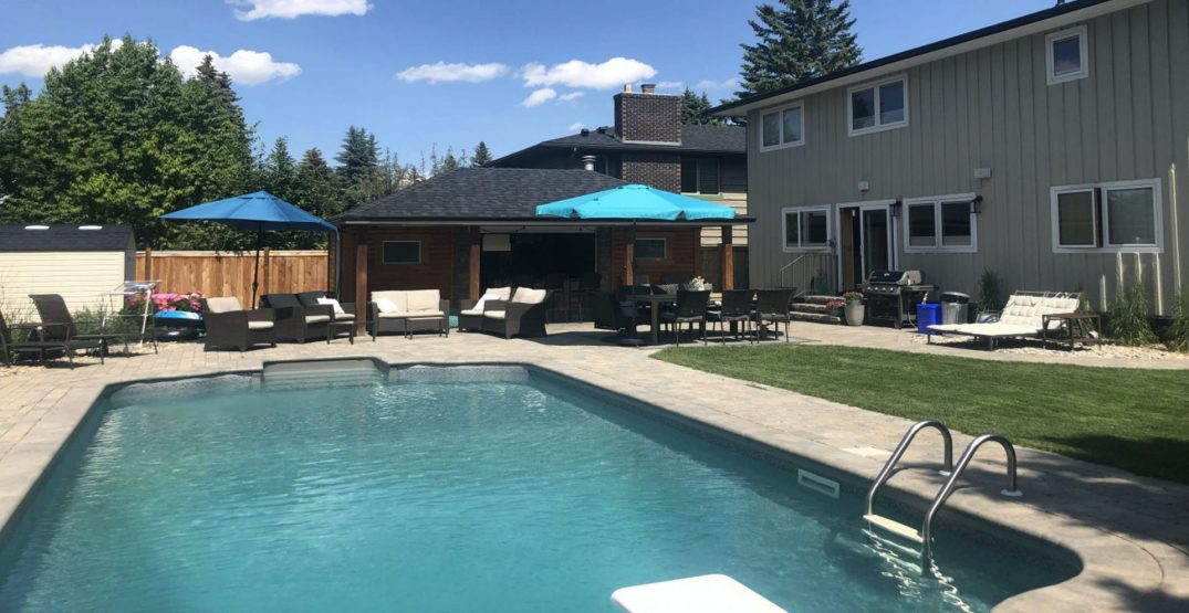 You can now rent out backyard pools Airbnb-style in Calgary (PHOTOS)