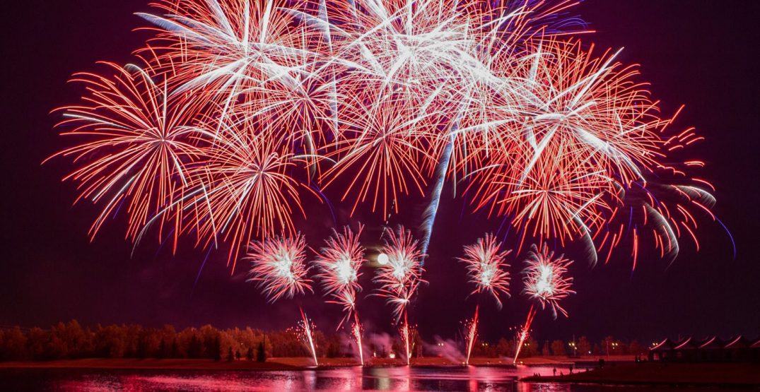 A five-day fireworks festival kicks off in Calgary this week