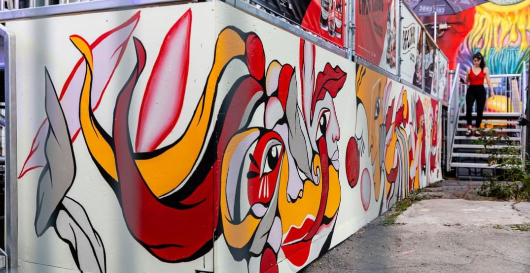 Some of the coolest art from the first week of Montreal's MURAL Fest (PHOTOS)